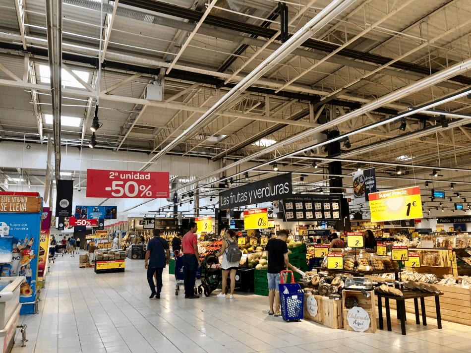 Emigreren Gran Canaria - De beste supermarkten in Gran Canaria - Vakantie tips - Carrefour Gran Canaria