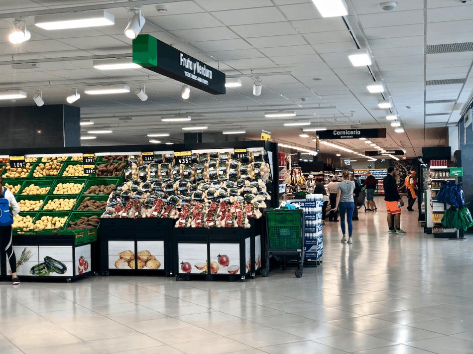 Emigreren Gran Canaria - De beste supermarkten in Gran Canaria - Vakantie tips - Mercadona Puerto Rico Gran Canaria