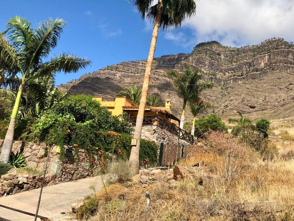 Wonen in het binnenland van Gran Canaria in de natuur