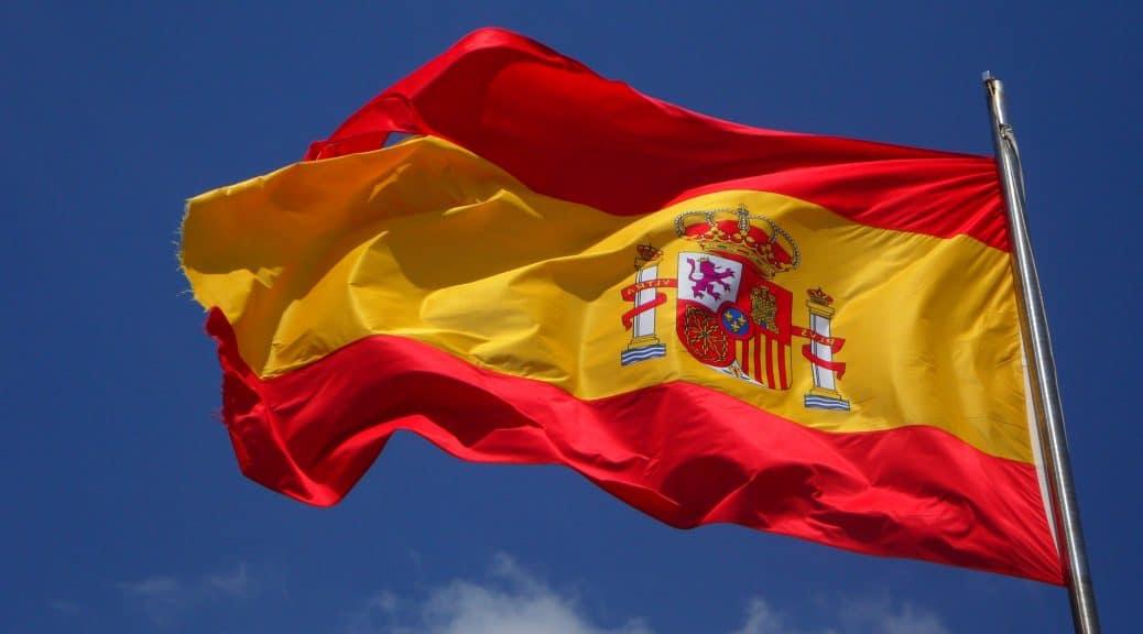 Emigreren Gran Canaria - Nationale feestdag op Gran Canaria - Día de Hispanidad (Columbus dag) - Spaans vlag