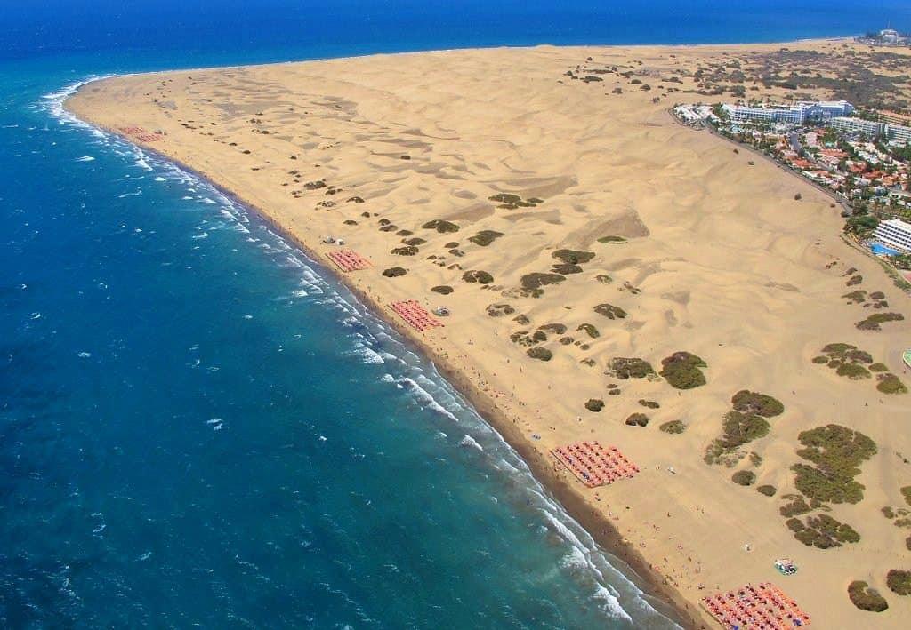 Emigreren Gran Canaria - Wanneer moet je vooral niet emigreren naar Gran Canaria - Zuidkust Playa del Ingles en Maspalomas Gran Canaria - Bengt Nyman via Flickr