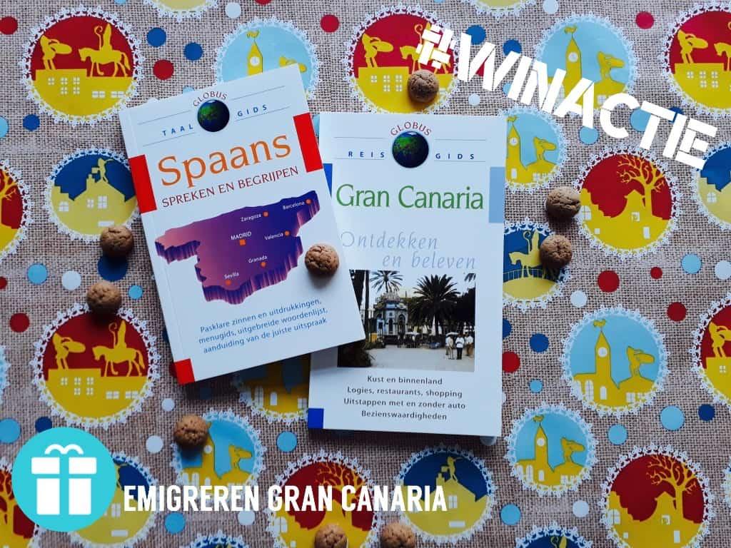 Emigreren Gran Canaria - Winactie Sinterklaas - reisgids Gran Canaria taalgids Spaans - Fotor