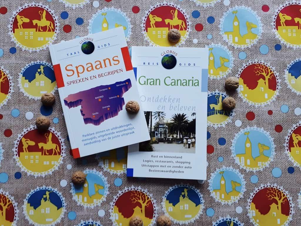 Emigreren Gran Canaria - Winactie Sinterklaas - reisgids Gran Canaria + taalgids Spaans