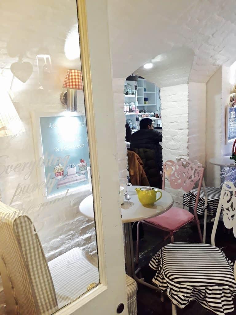 Emigreren Gran Canaria - Londen - Reisverslag van 3 dagen in Londen + handige tips - Covent Garden Sweetheart Cakes inrichting