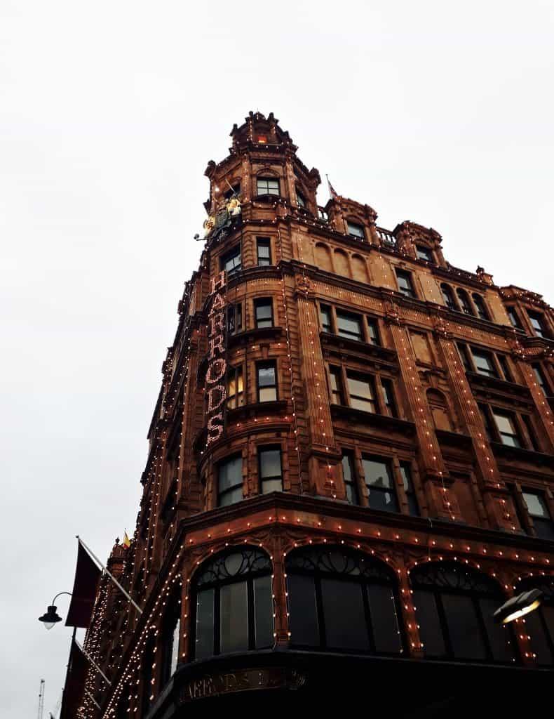 Emigreren Gran Canaria - Londen - Reisverslag van 3 dagen in Londen + handige tips - Harrods Londen