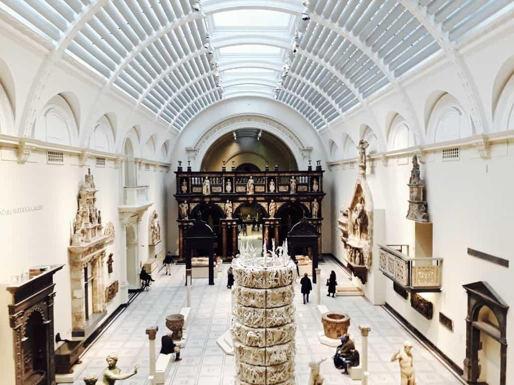 Emigreren Gran Canaria - Londen - Reisverslag van 3 dagen in Londen + handige tips - Victoria and Albert Museum - Romeins