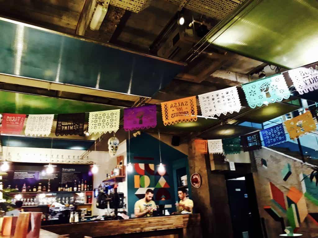 Emigreren Gran Canaria - Londen - Reisverslag van 3 dagen in Londen + handige tips - Wahaca Mexicaans eten Londen