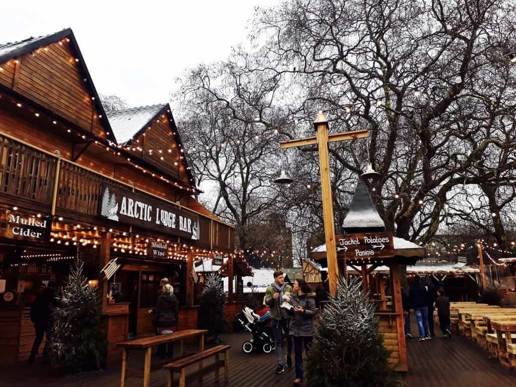 Emigreren Gran Canaria - Londen - Reisverslag van 3 dagen in Londen + handige tips - Winter Wonderland Hyde Park Londen