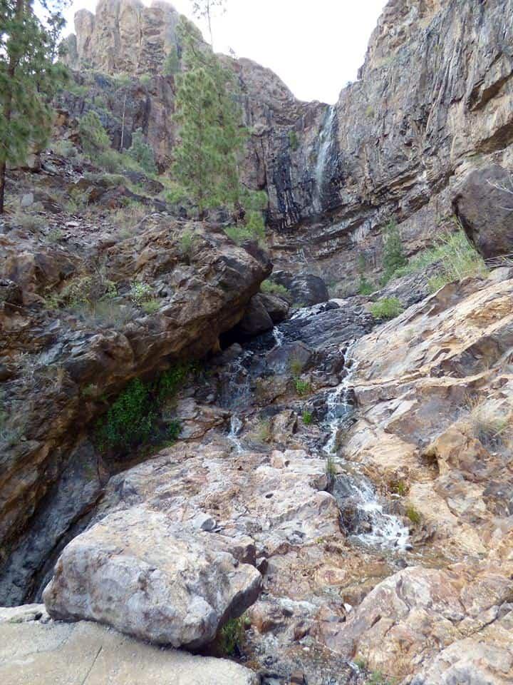 Emigreren Gran Canaria - Slecht weer op Gran Canaria - regen en wind op komst - Watervallen in bergen op Gran Canaria