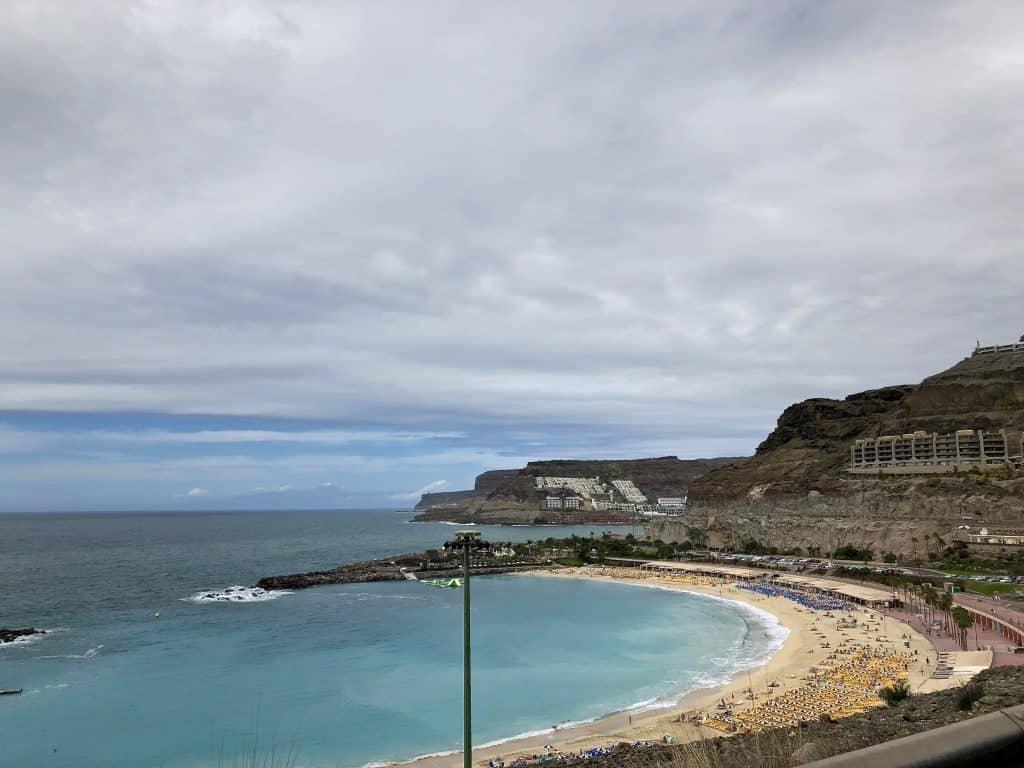 Emigreren Gran Canaria - Weekje op vakantie naar Gran Canaria - Reisverslag deel 2 - Amadores strand
