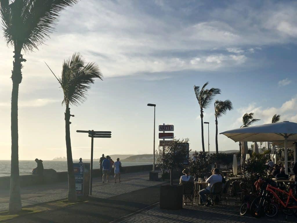 Emigreren Gran Canaria - Weekje op vakantie naar Gran Canaria - Reisverslag deel 2 - Boulevard Meloneras