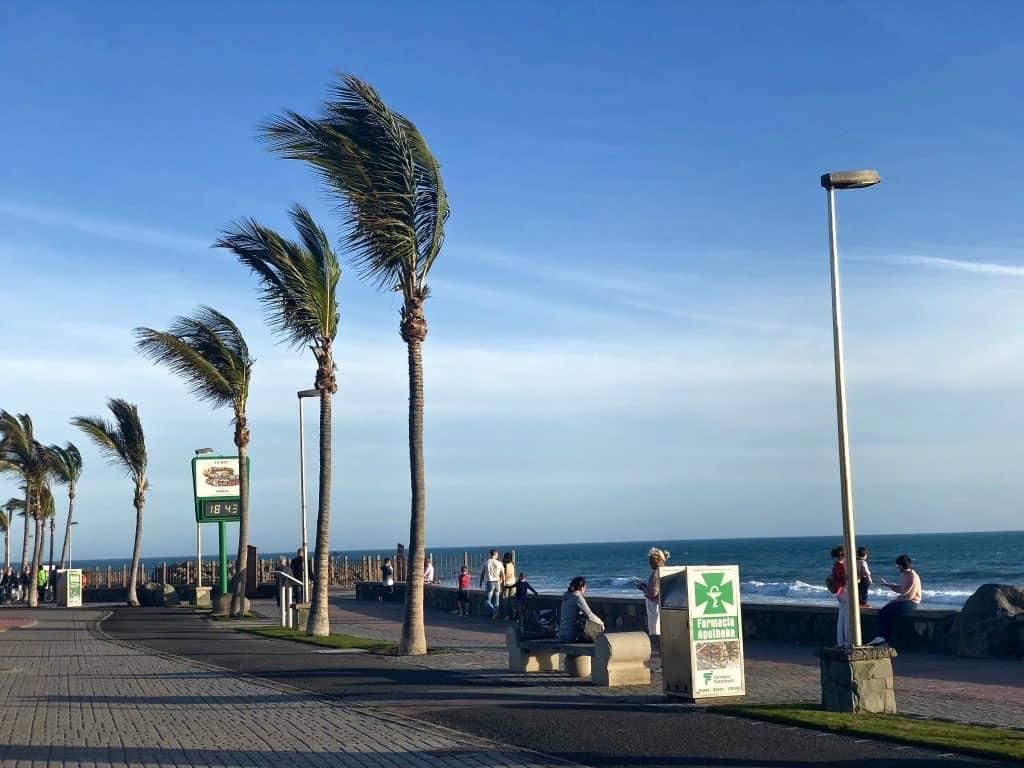 Emigreren Gran Canaria - Weekje op vakantie naar Gran Canaria - Reisverslag deel 2 - Boulevard Varadero Meloneras
