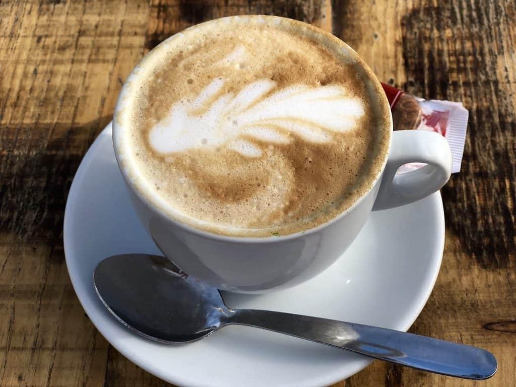 Emigreren Gran Canaria - Weekje op vakantie naar Gran Canaria - Reisverslag deel 2 - Koffie Penguino boulevard Meloneras