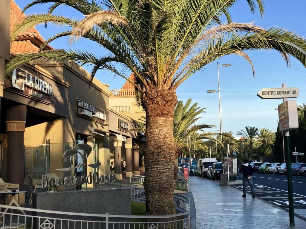 Emigreren Gran Canaria - Weekje op vakantie naar Gran Canaria - Reisverslag deel 2 - Meloneras Boulevard Oasis