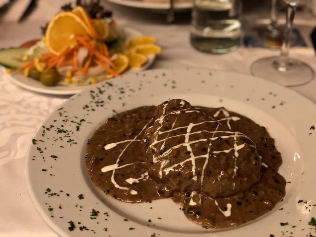 Emigreren Gran Canaria - Weekje op vakantie naar Gran Canaria - Reisverslag deel 2 - Restaurante Guarapo Tropical Playa del Ingles - Steak