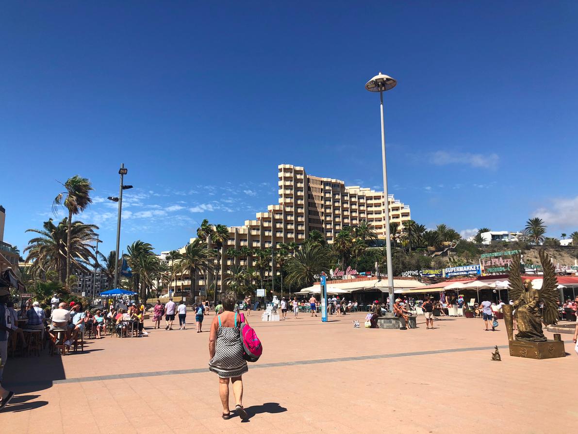 Emigreren Gran Canaria - Reisverslag Gran Canaria deel 3 - Las Palmas & Playa del Inglés - Anexo 2 plein