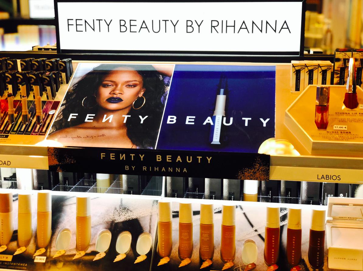 Emigreren Gran Canaria - Reisverslag Gran Canaria deel 3 - Las Palmas & Playa del Inglés - Shoppen in Las Palmas - El Corte Ingles - Fenty Beauty by Rihanna