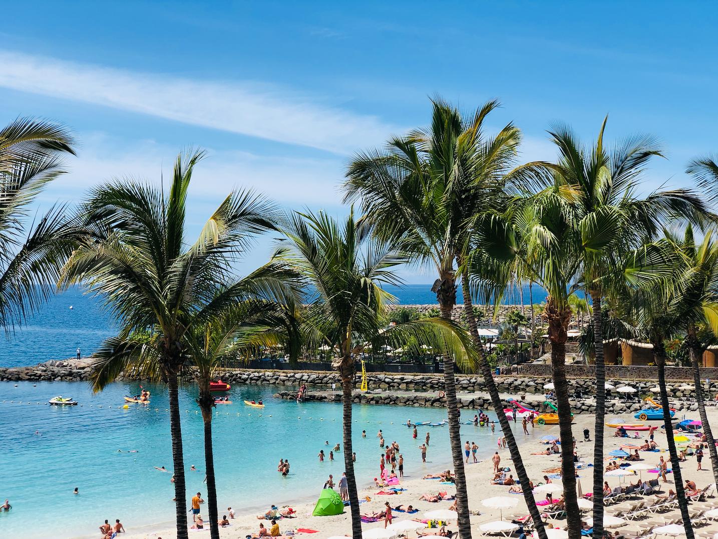 Anfi del Mar strand overzicht van de mooiste stranden aan de Westkust van Gran Canaria