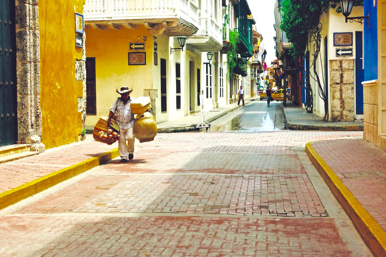 Emigreren Gran Canaria - Inspirerende Emigratieverhalen - Sabine in Colombia - Cartagena Colombia.jpg