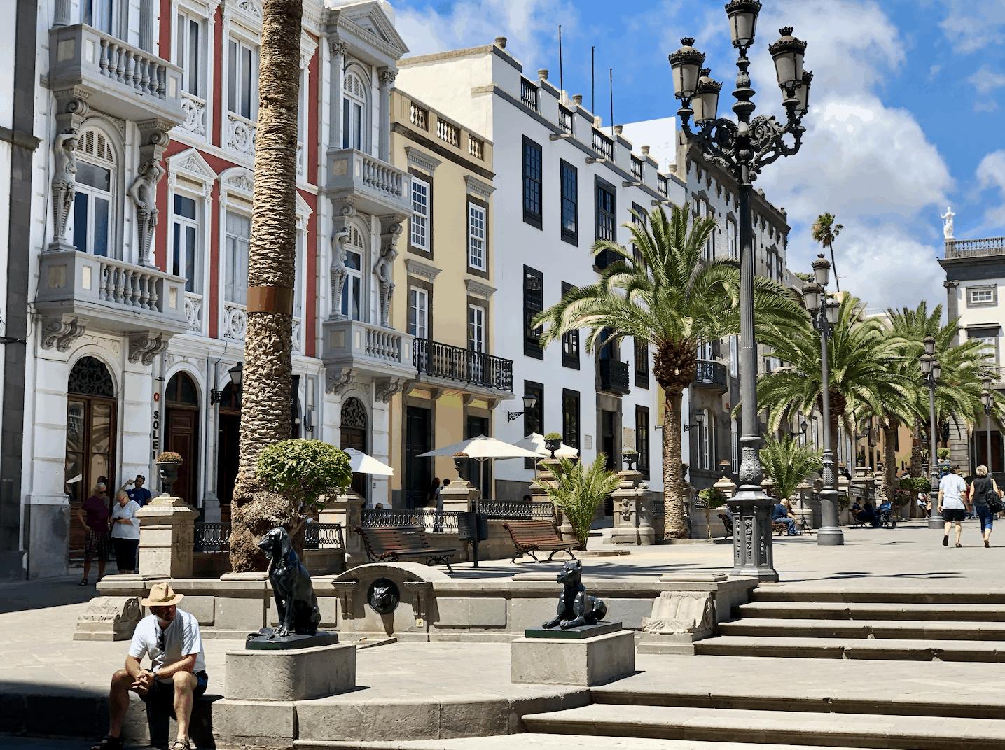 Plaza de Santa Ana in Las Palmas de Gran Canaria