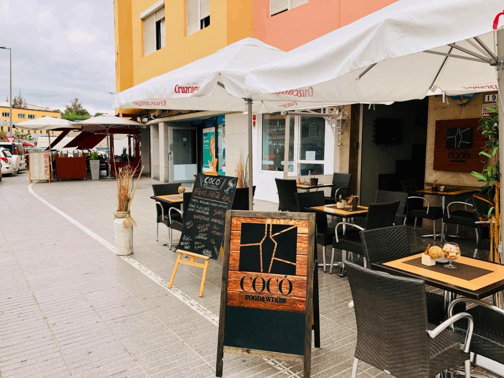Terras van Coco Food en Wines in San Fernando