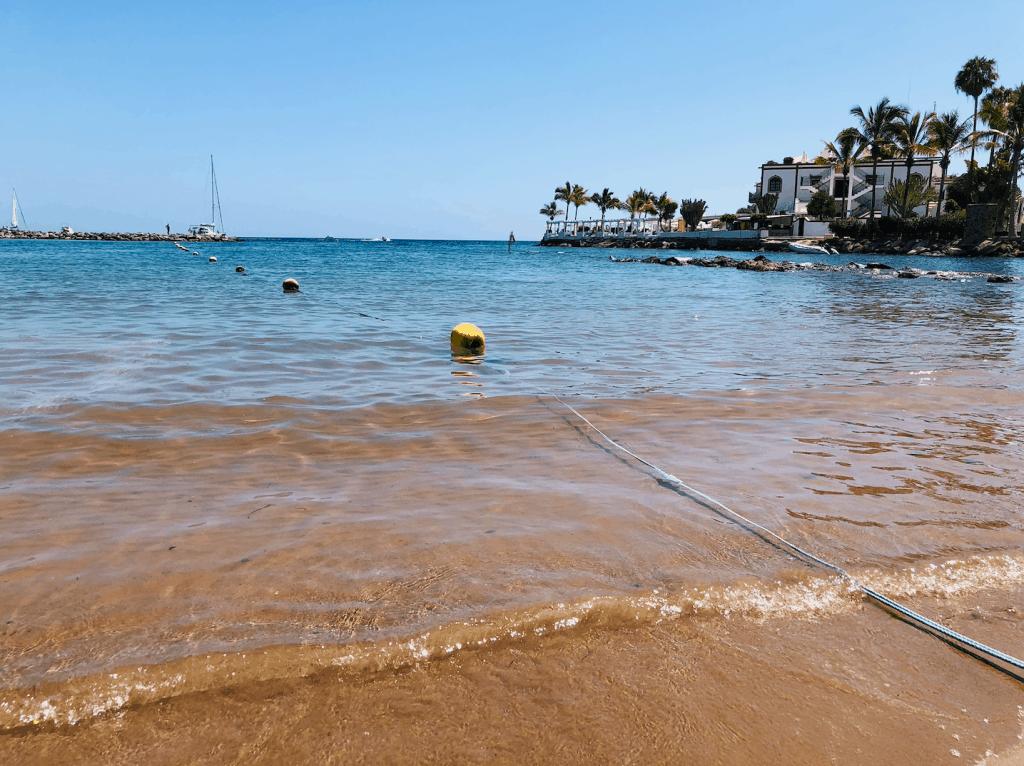 Strand van Mogan op Gran Canaria familiestranden op Gran Canaria