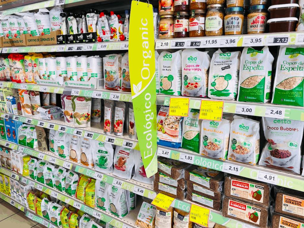 Organic producten bij Hiperdino