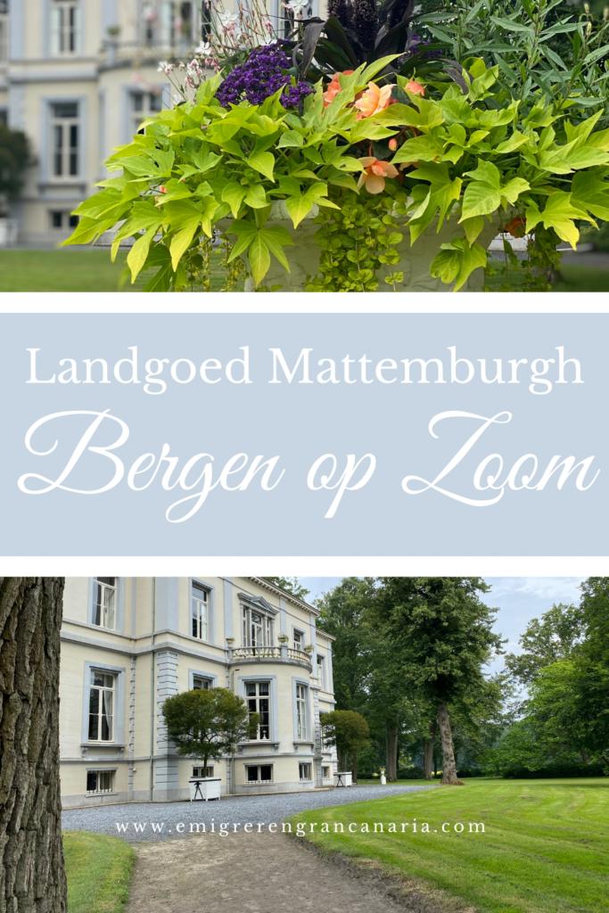 Wandelen op Landgoed Mattemburgh in Bergen op Zoom   Emigreren Gran Canaria